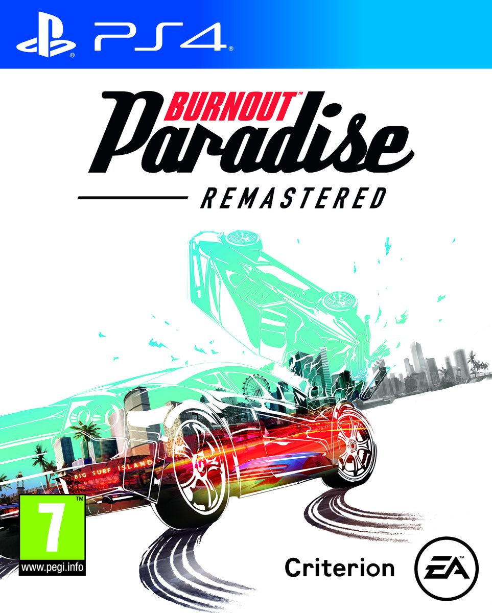 Burnout Paradise: Remastered PlayStation 4