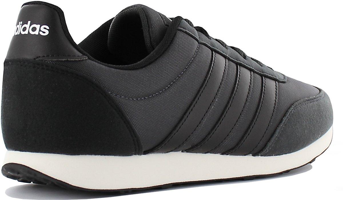 newest 7720b 7d612 bol.com  Adidas V Racer 2.0 B75799, Mannen, Zwart, Sneakers maat 43 13 EU