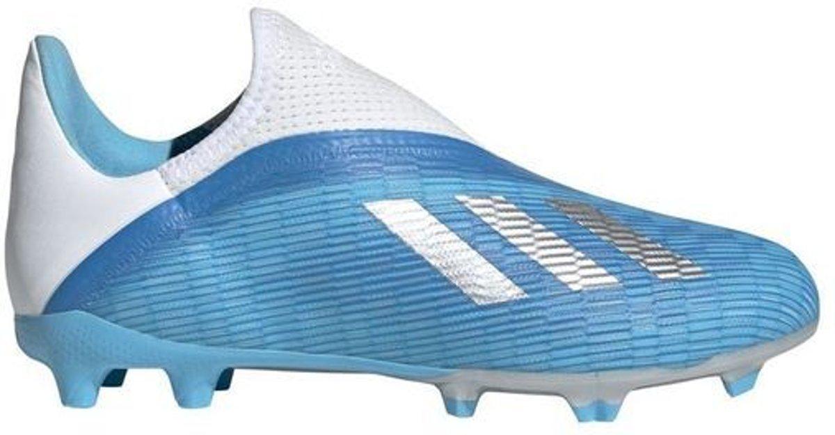 Adidas X 19.3 LL FG Kids Bright Cyan