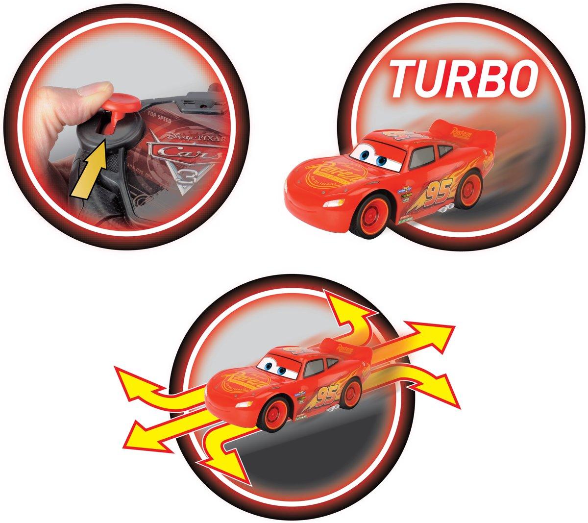Bol Com Cars 3 Rc Fabulous Bliksem Mcqueen Turbo Bestuurbare