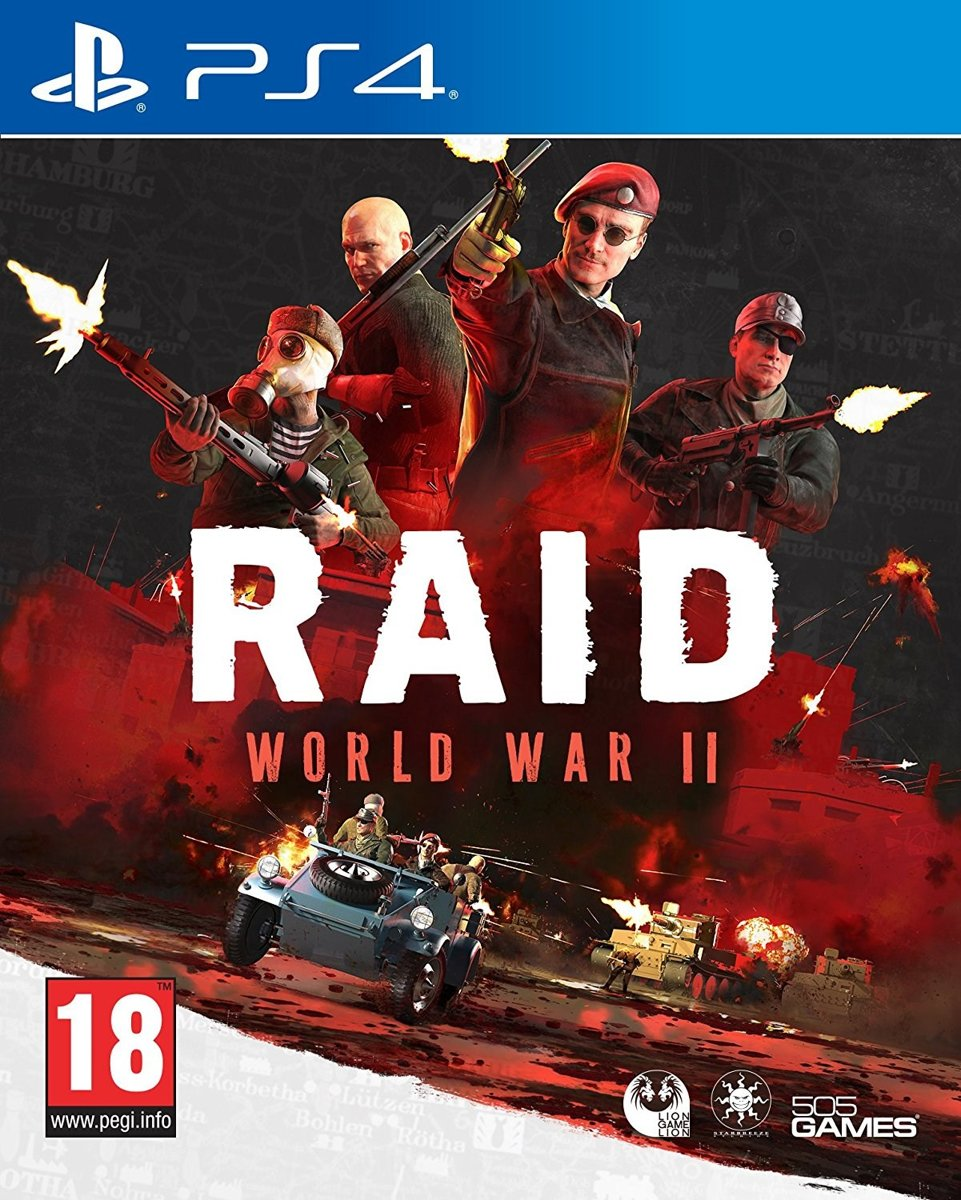 Raid World War 2 PlayStation 4