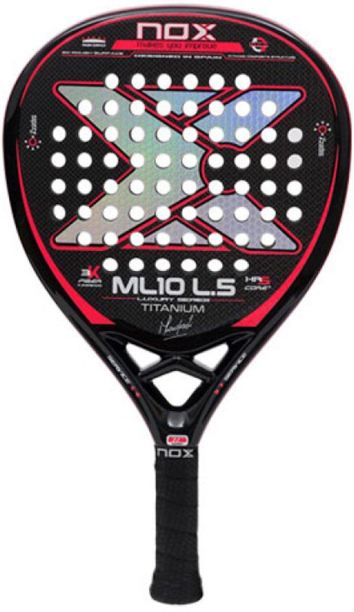 NOX ML10 Luxury Titanium L5 Padel racket