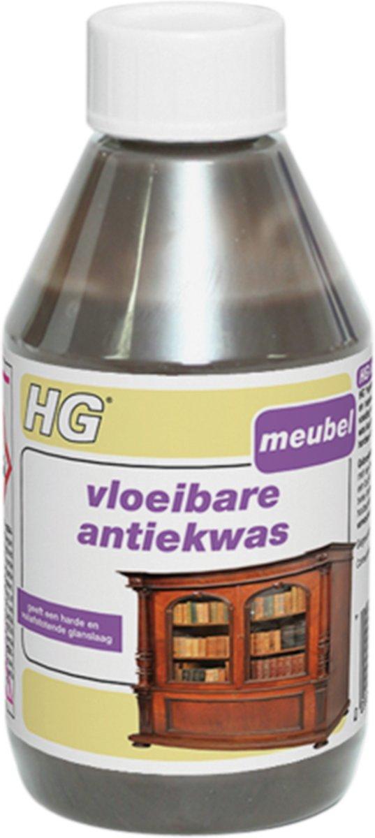 HG Vloeibare Antiekwas - Onderhoud Hout - Bruin - 300 ml kopen