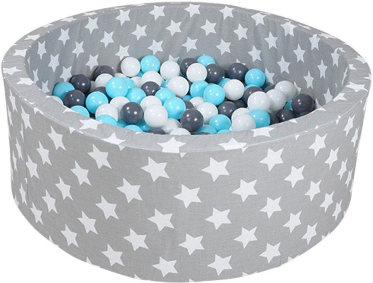 KnorrToys Ballenbad Soft Grijs-Blauw
