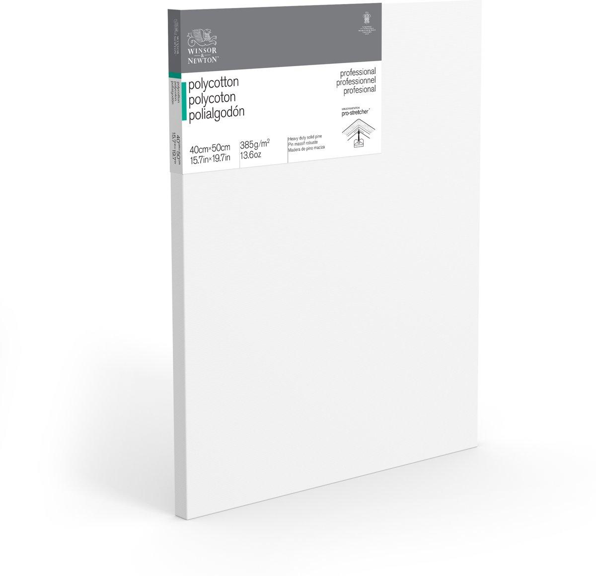 Winsor & Newton Professional Canvas Rayonkatoen 40X50cm