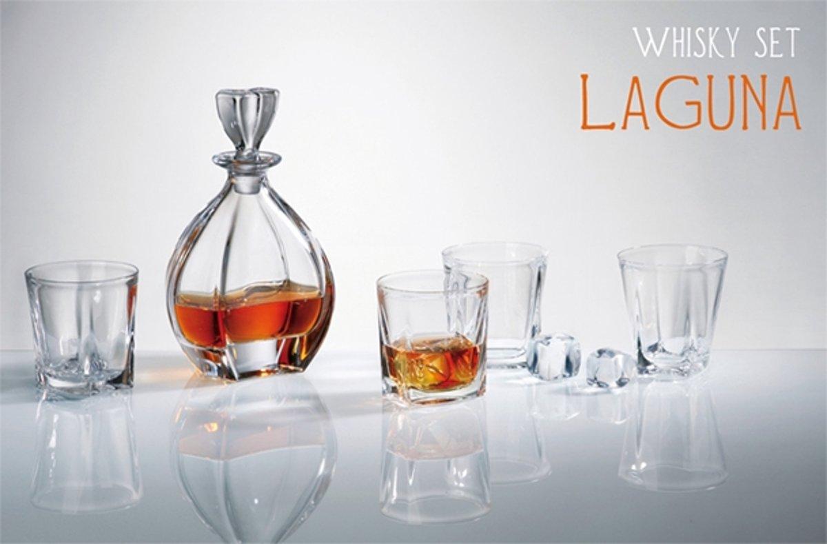 Whisky set Laguna 1+6 kopen