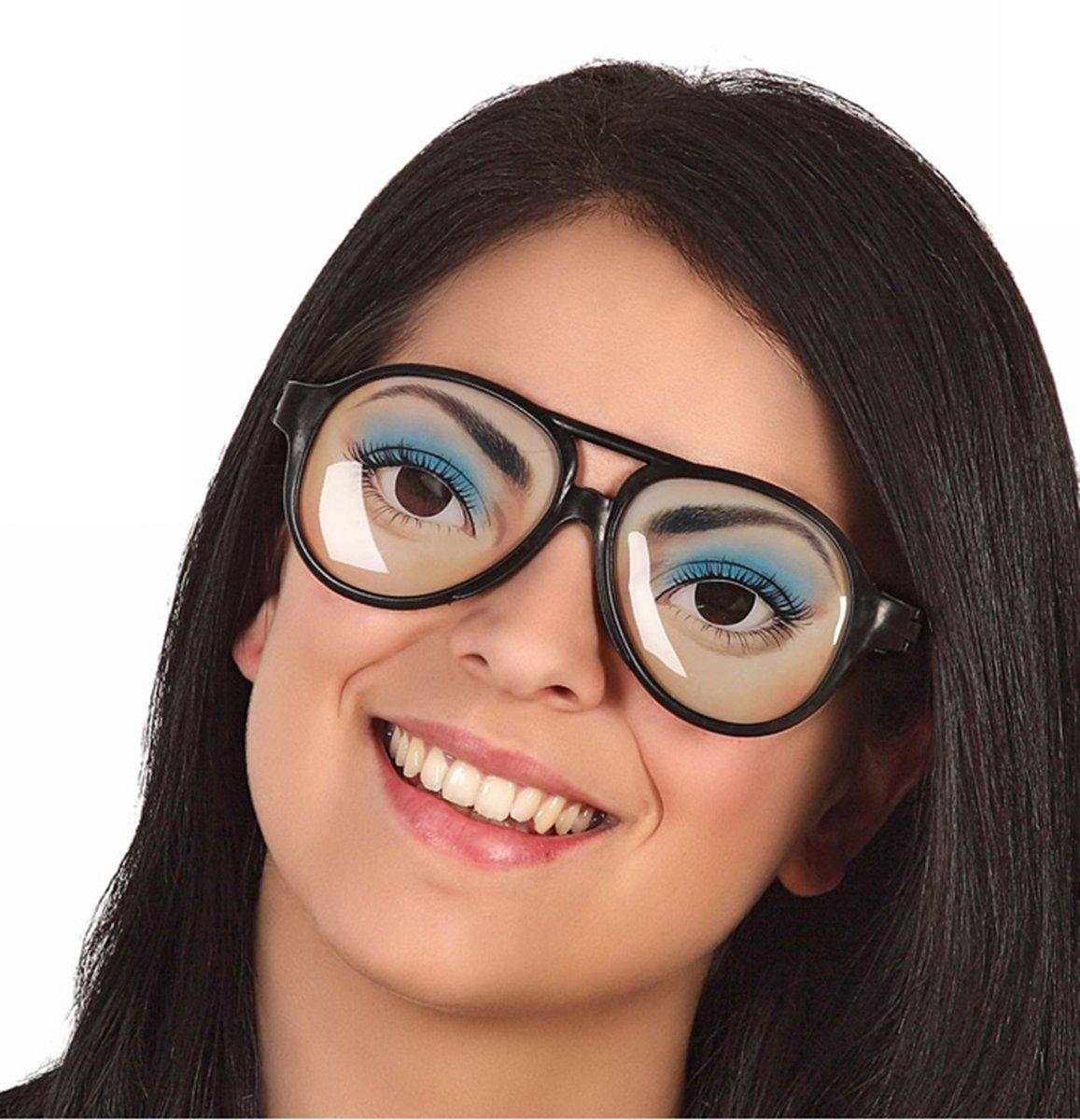 Mooie ogen bril voor volwassenen - Verkleedattribuut kopen