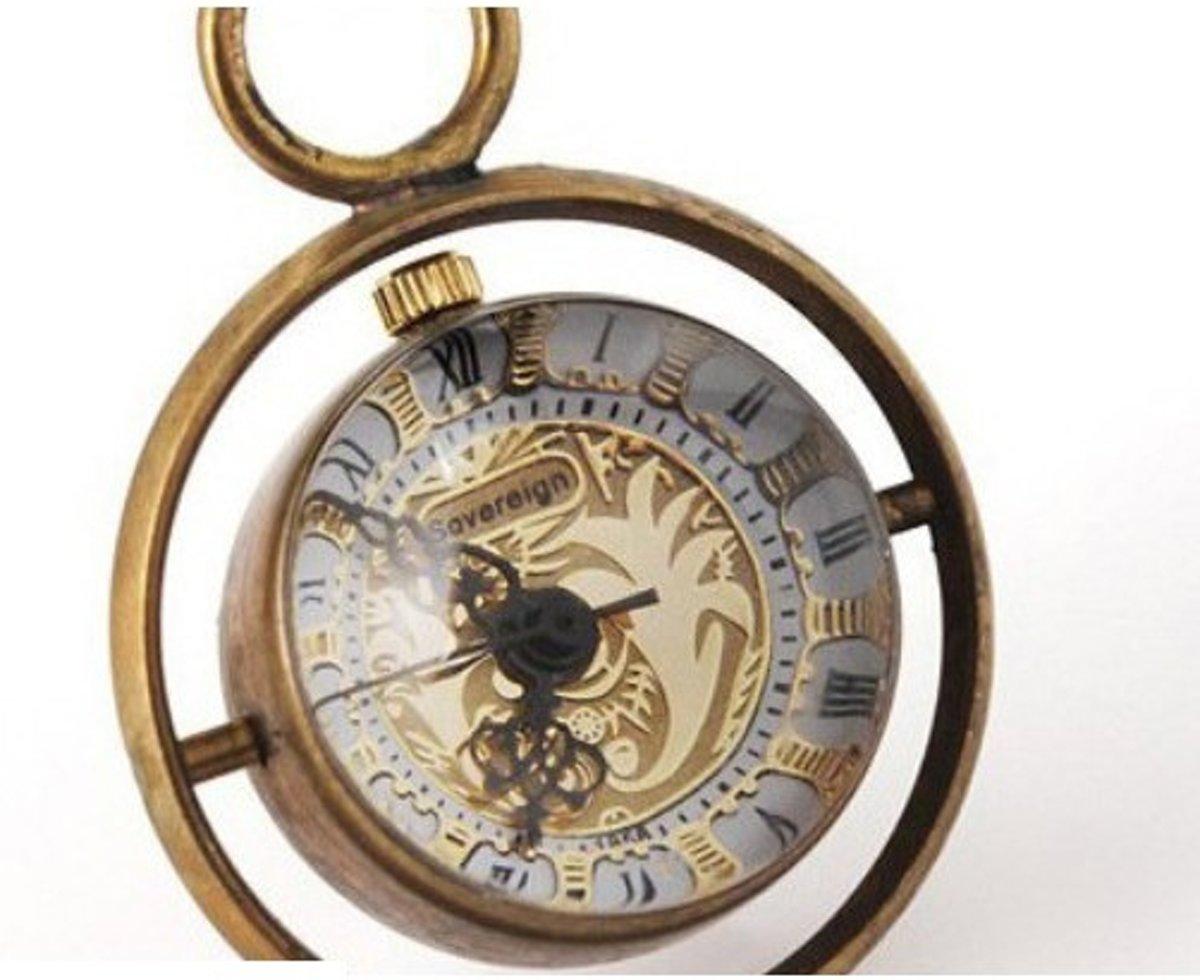 Ketting horloge Balls - Brons #60 kopen