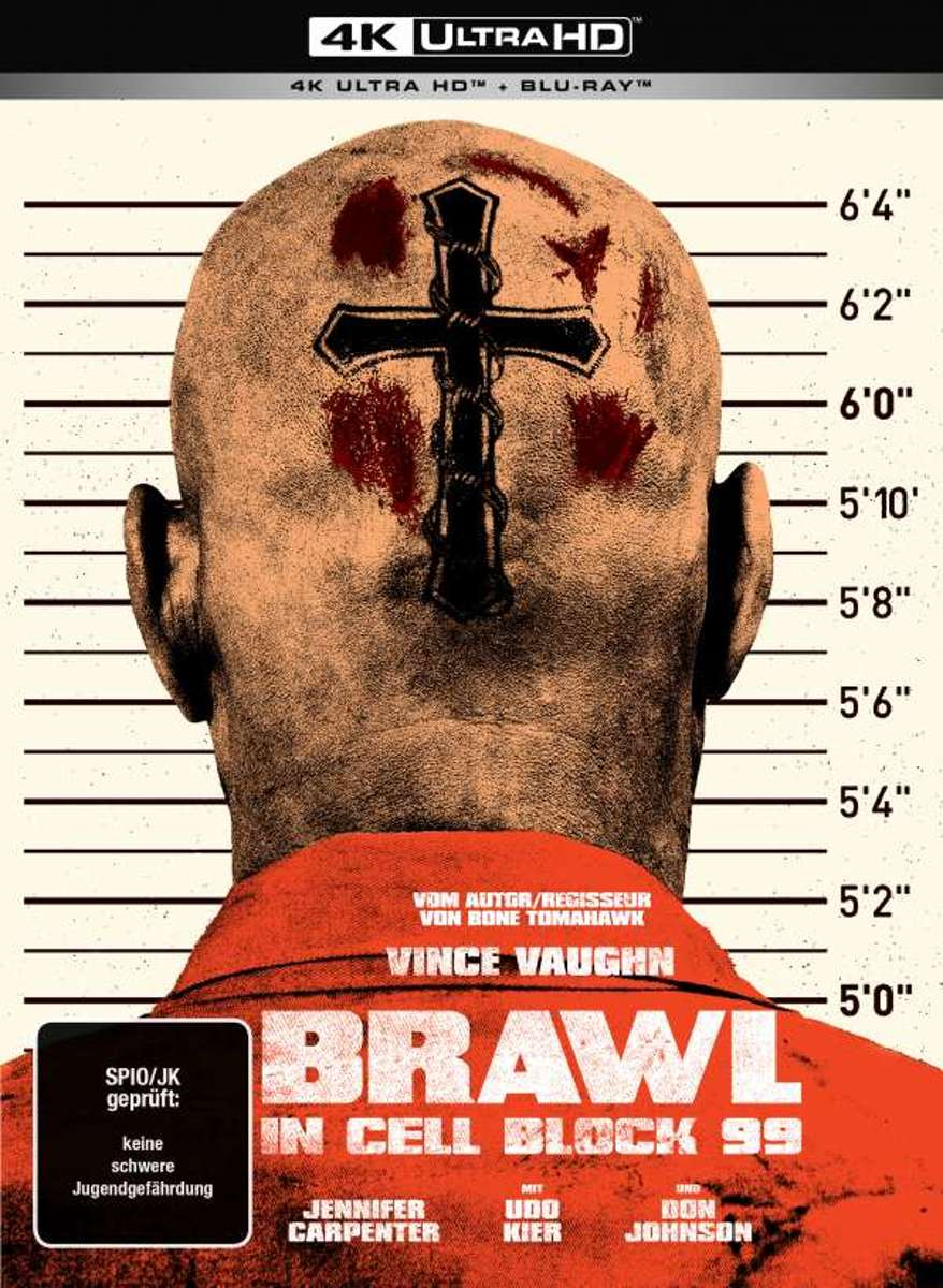 Brawl in Cell Block 99 (Ultra HD Blu-ray & Blu-ray in Mediabook)-