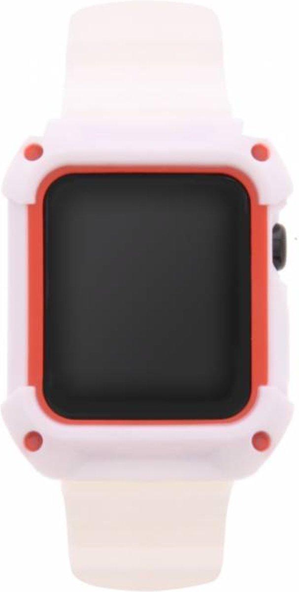 Witte Armour band voor de Apple Watch 42 mm kopen
