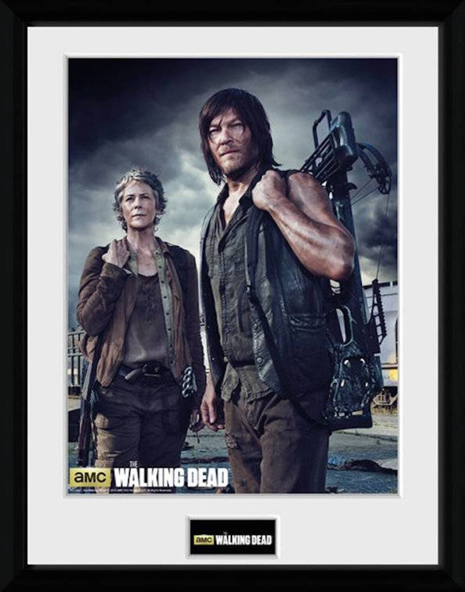 Merchandising THE WALKING DEAD - Collector Print 30X40 - Carol and Daryl kopen
