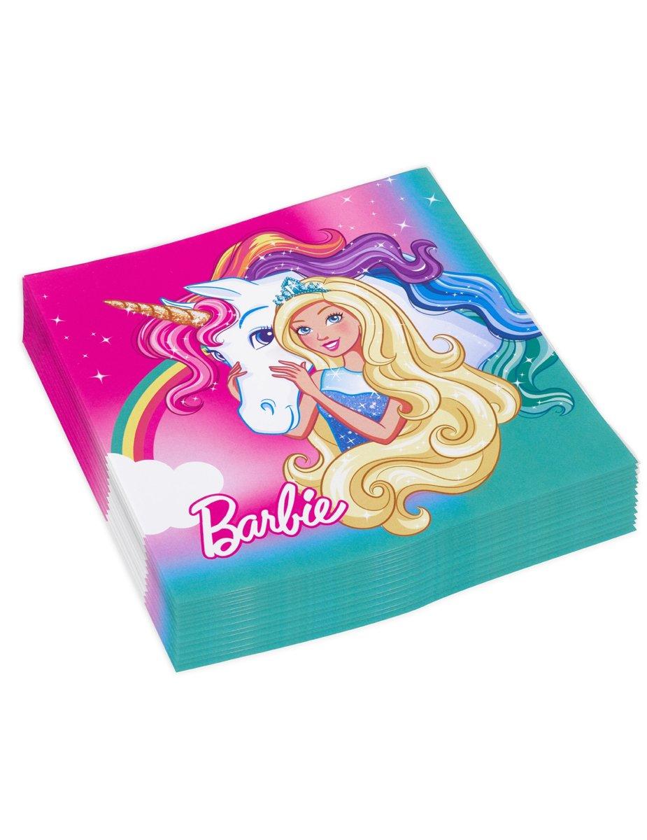 20 Papieren servetten Barbie Dreamtopia? - Feestdecoratievoorwerp