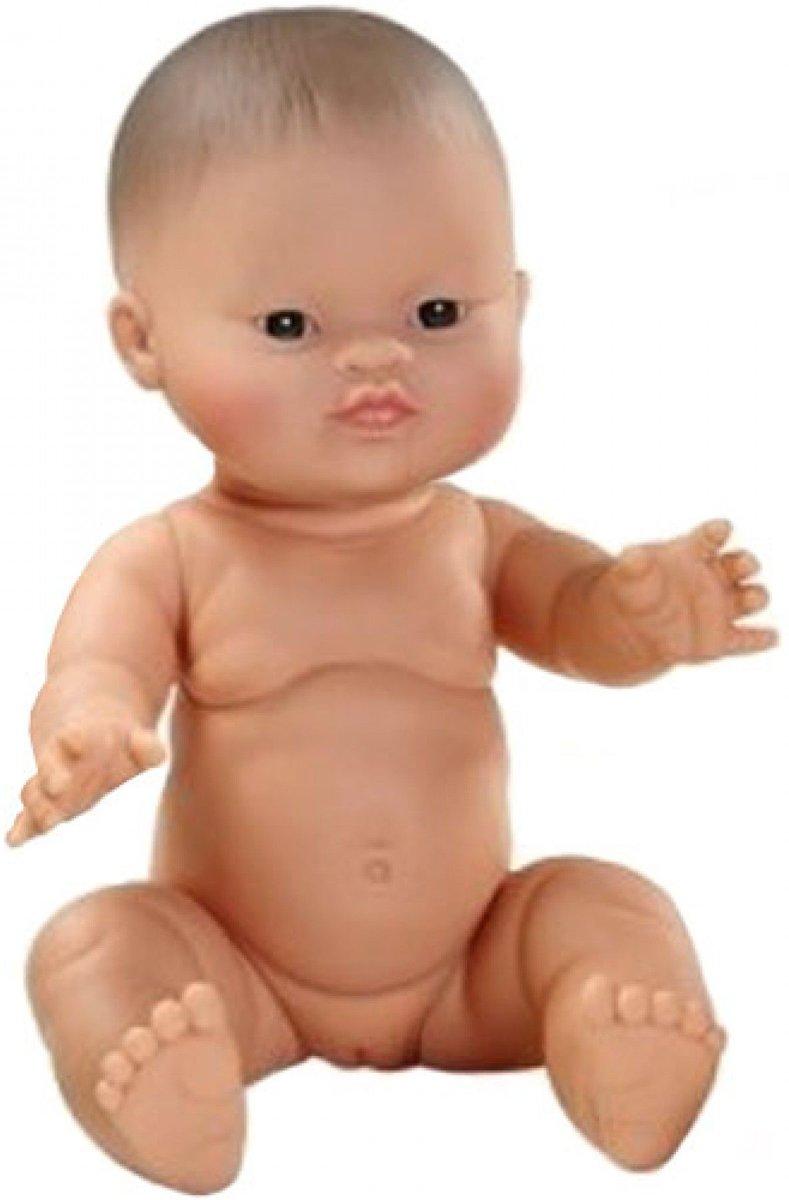Paola Reina Gordi babypop Aziatisch meisje 34cm