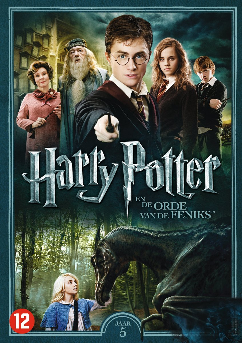 Harry Potter Jaar 5 - De Orde Van De Feniks | DVD kopen