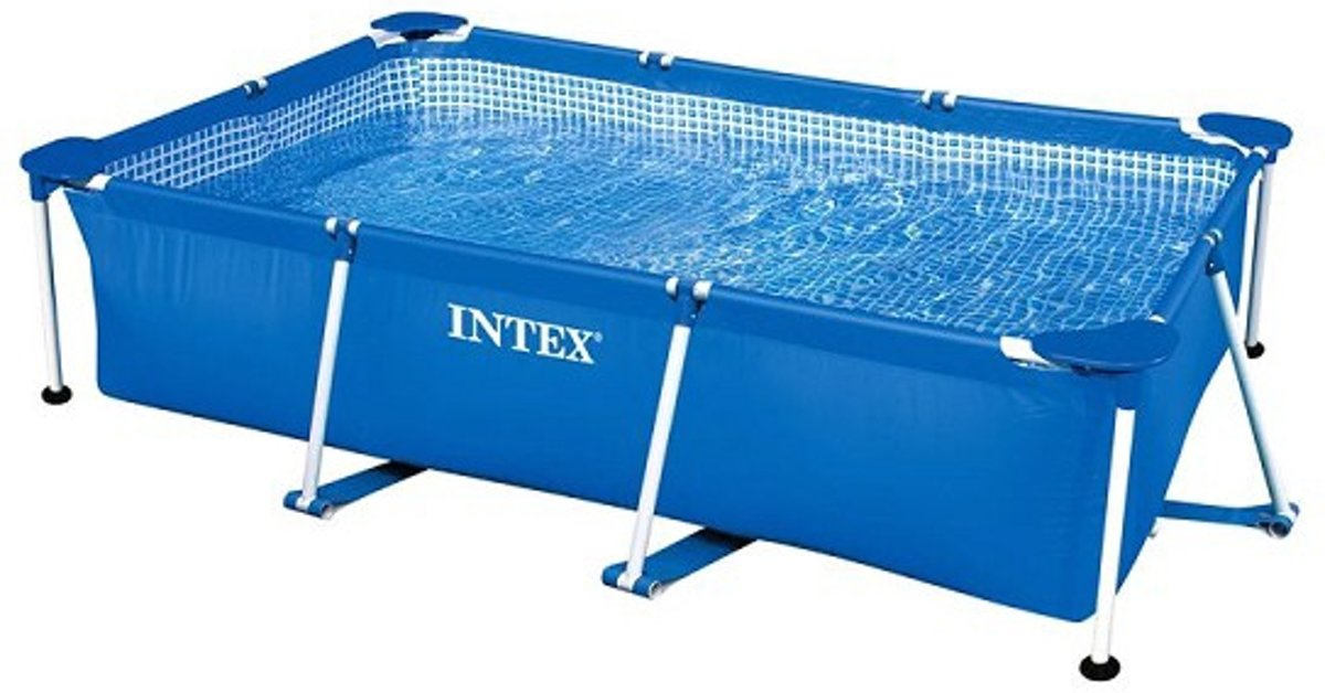Intex frame zwembad