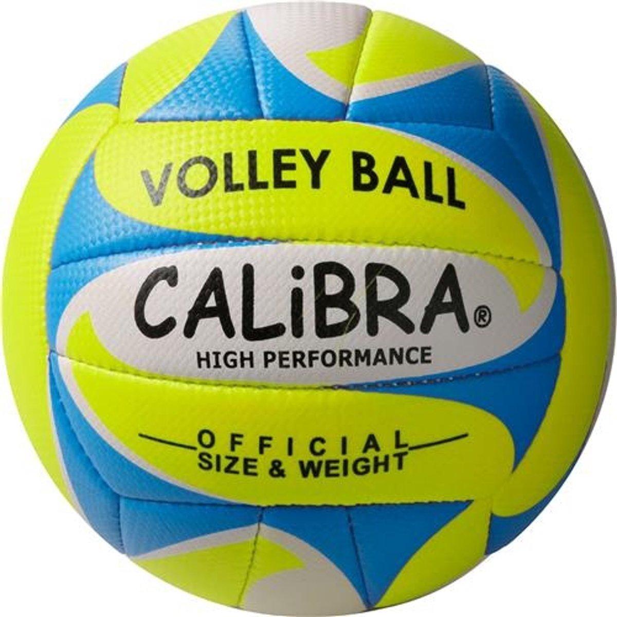 Calibra Beachvolleybal Alegre 2.0 Geel/blauw/wit Maat 5 kopen