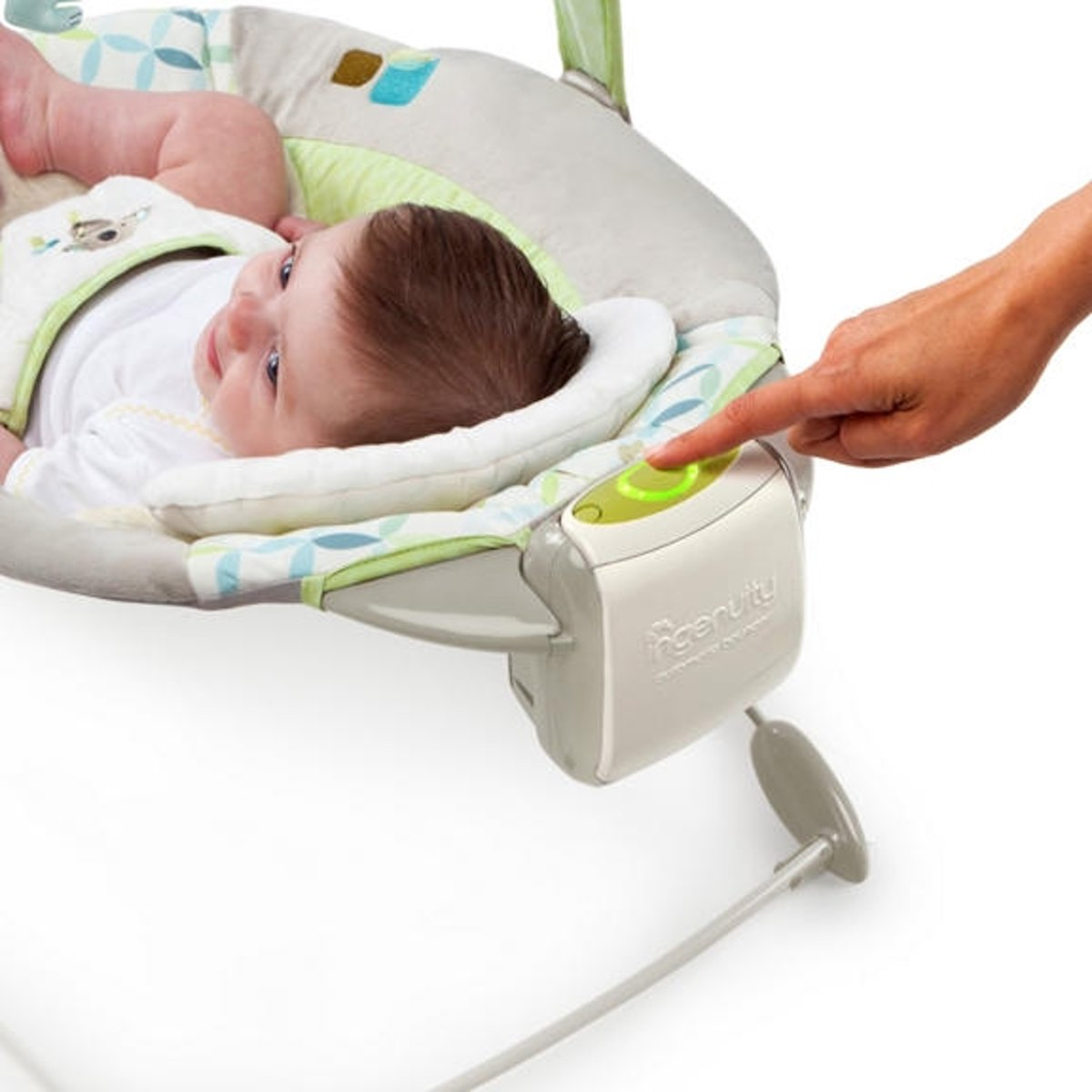 Smartbounce Automatic Bouncer Brighton Bright Starts Ingenuity Winslow