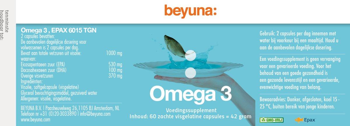 omega 3 dosering per dag