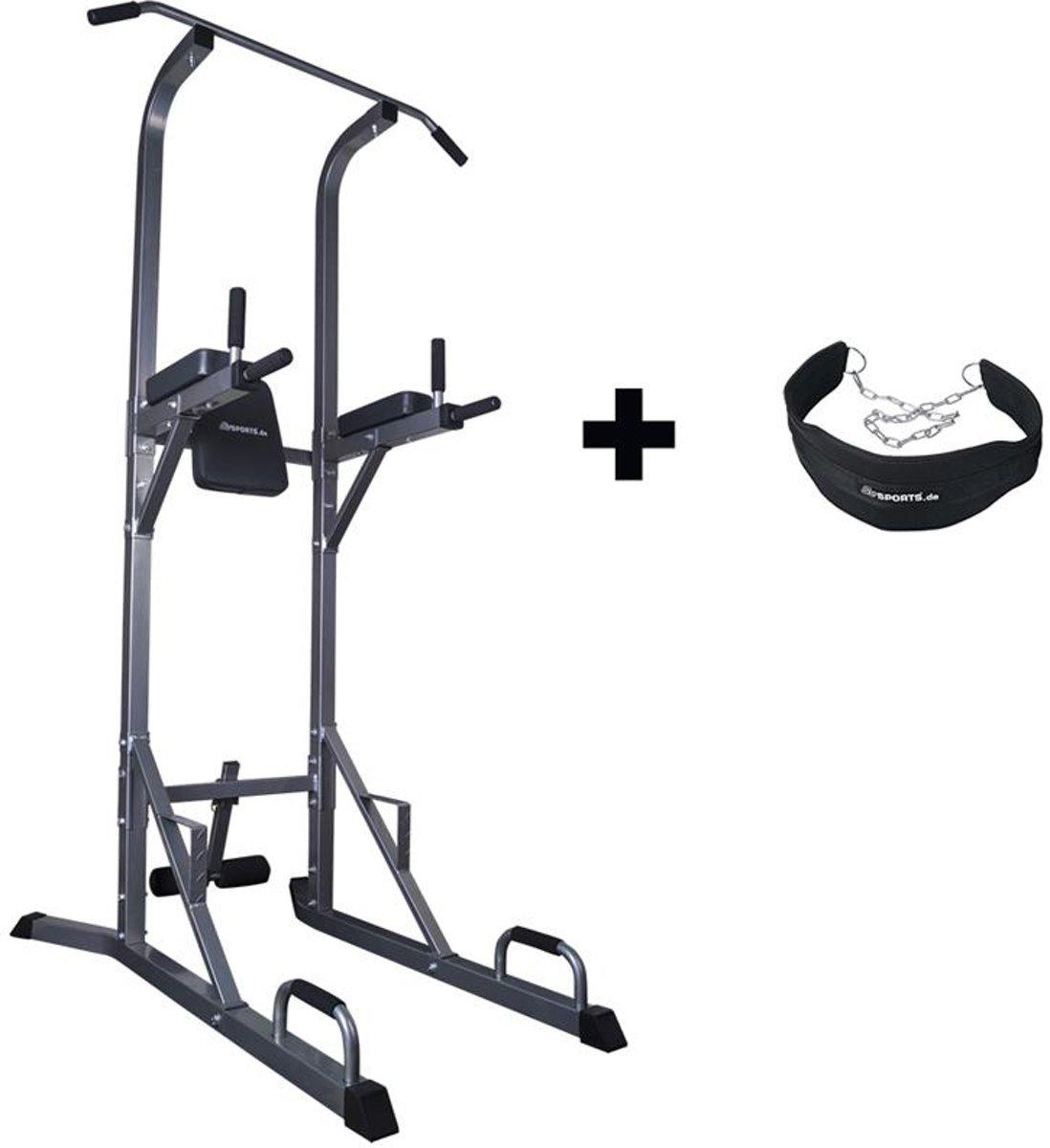 ScSPORTS® Gymtower met dip gordel kopen