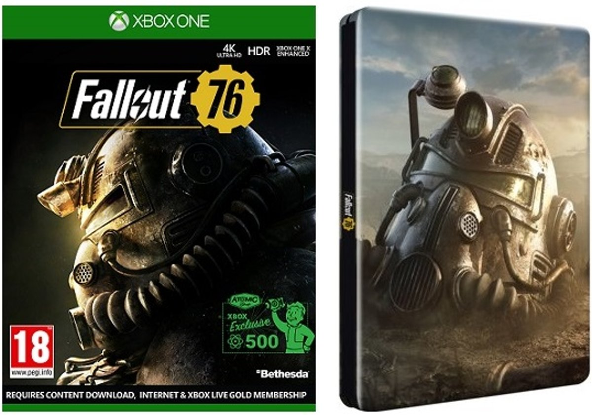 Fallout 76 Steelbook Pack XOne Xbox One