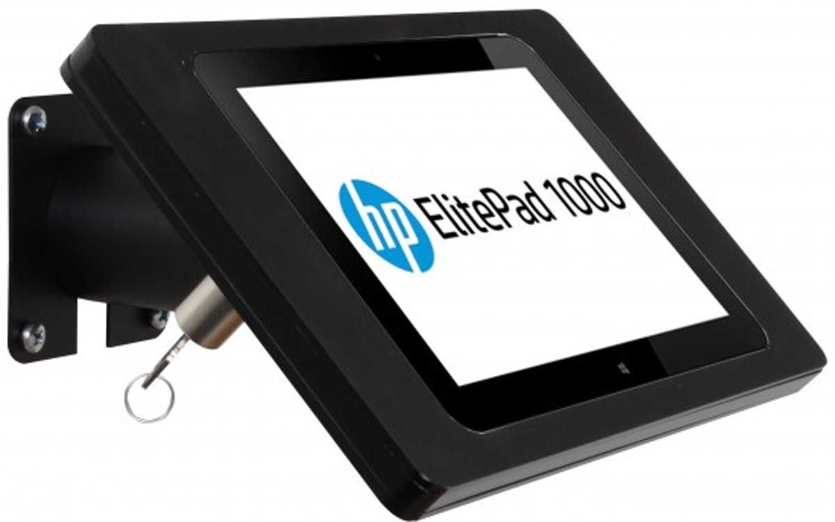 Wandhouder Fino HP Elitepad 1000, zwart-rvs