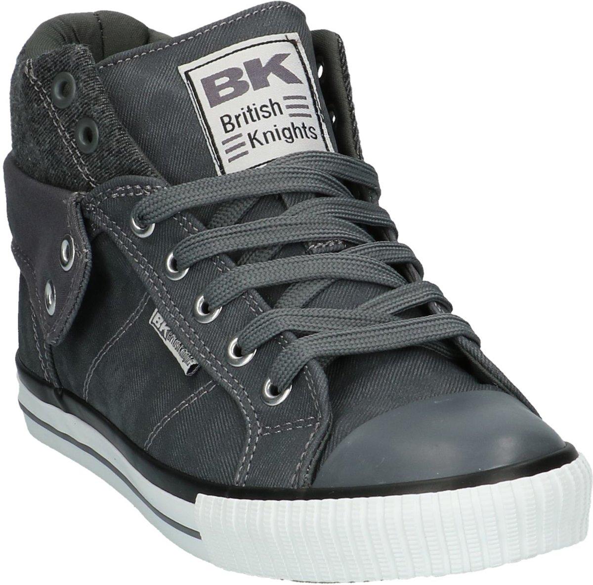 9212c271edd bol.com | BK - Roco 3703 - Sneaker hoog sportief - Heren - Maat 40 - Grijs  - 31 -Dk Grey/Black