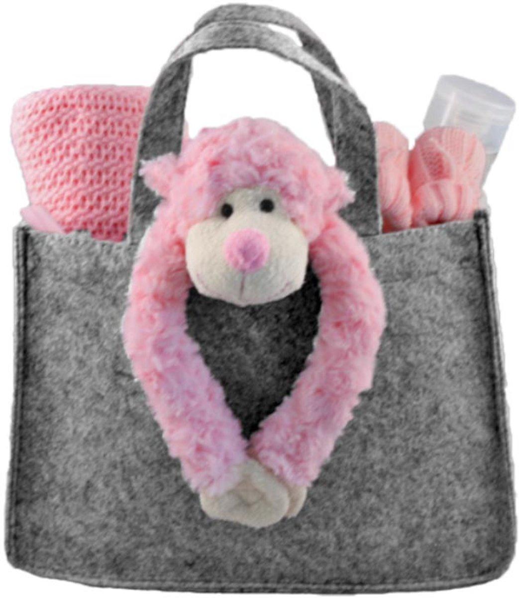 Kraammand Mini-shopper Slingeraap Roze kopen
