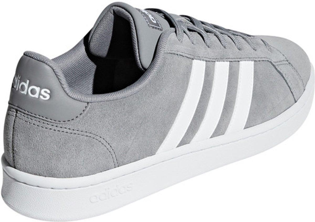 Adidas Performance Sneakers laag grey maat 44 veloursleer