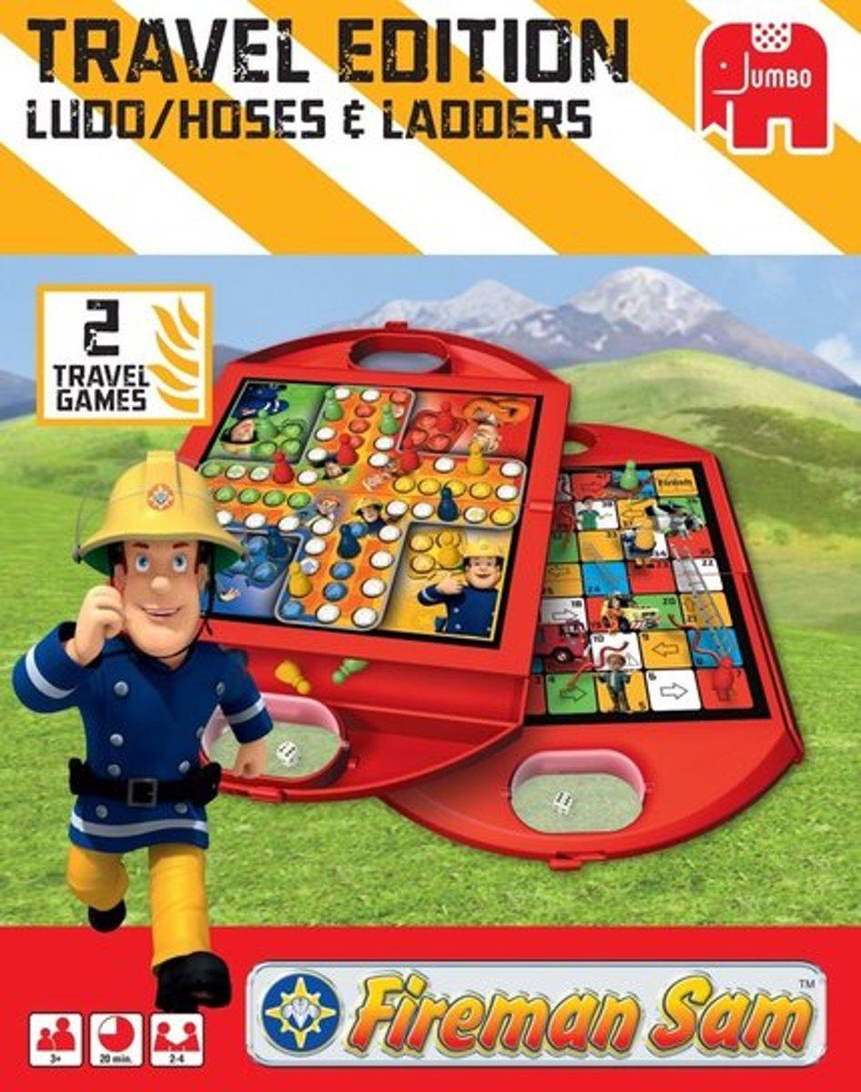 Brandweerman Sam Mens erger je niet   Ludo reisspel