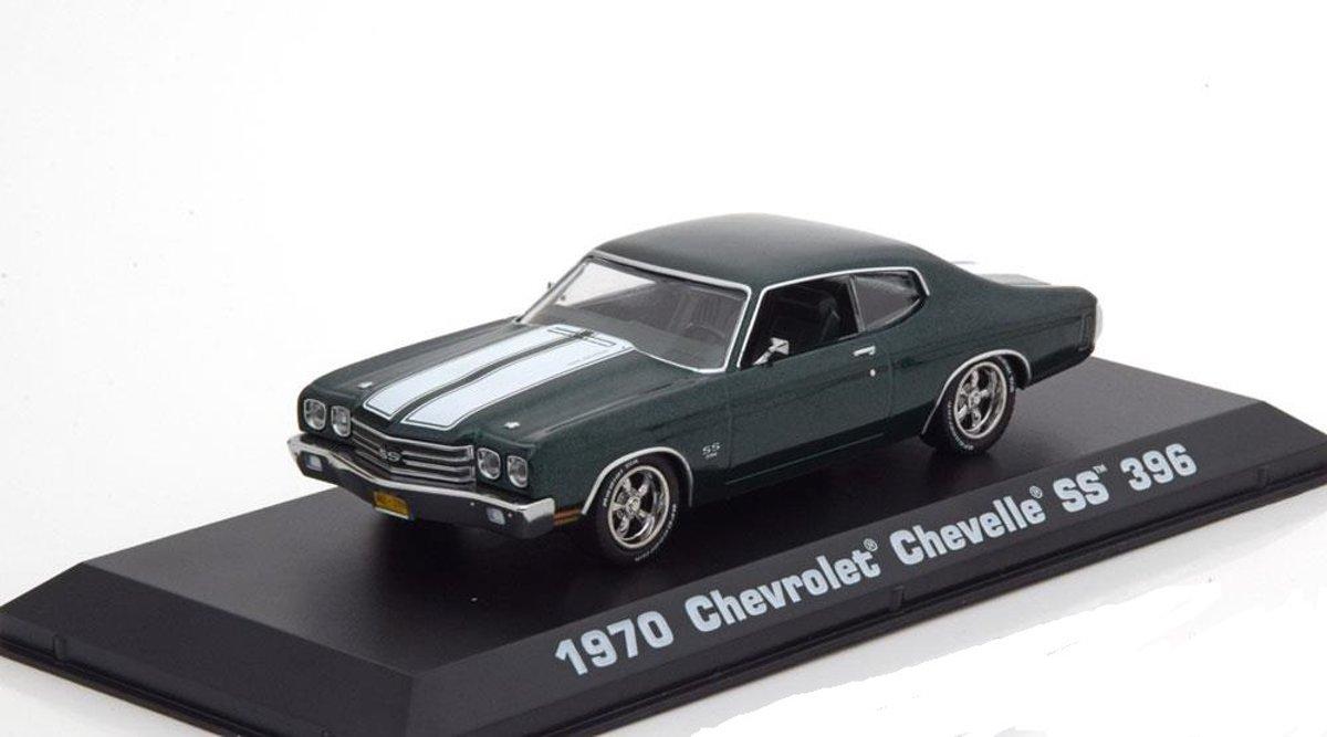 "Chevrolet Chevelle SS 396 1970 ""John Wick ""Groen 1-43 Greenlight Collectibles"