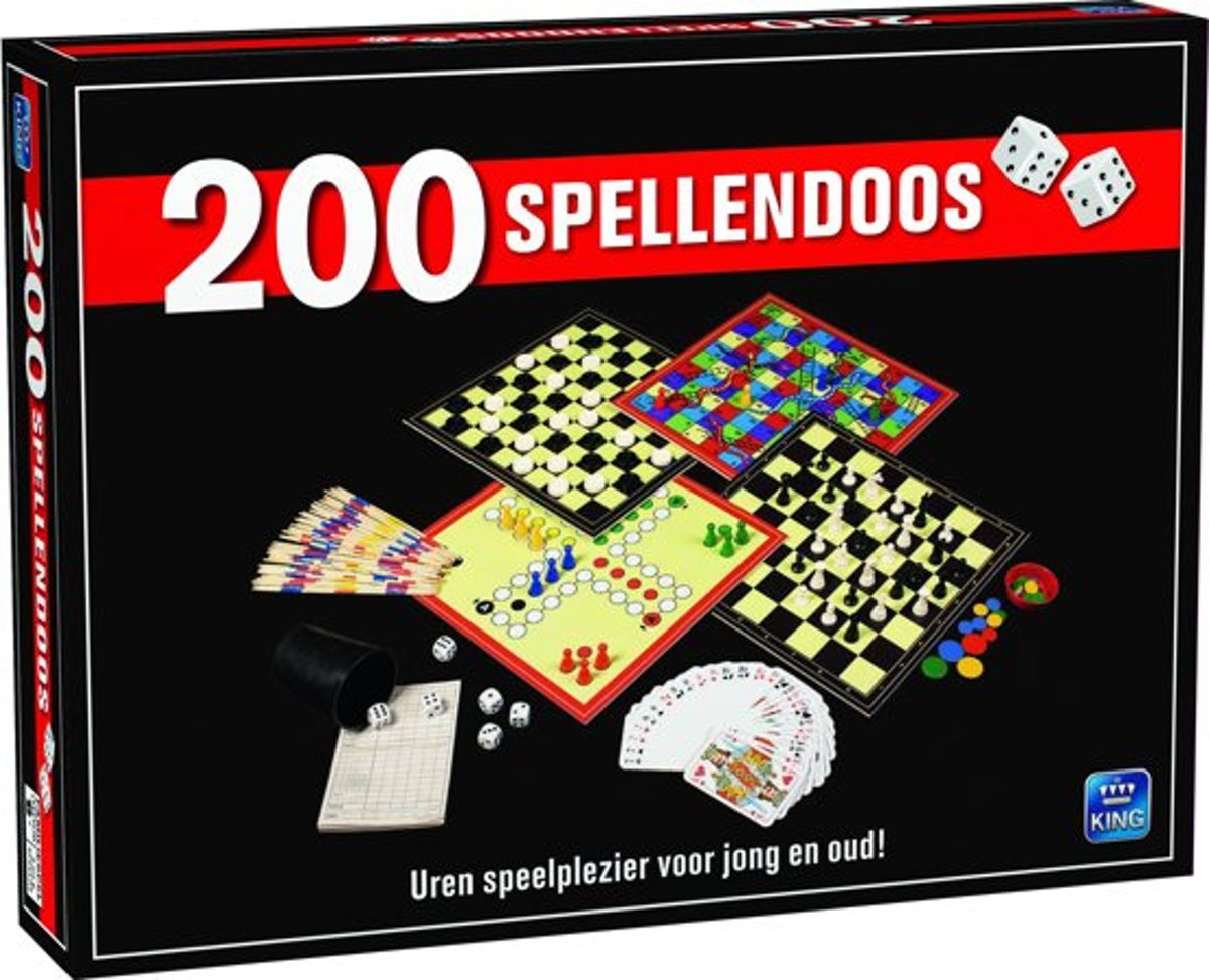 200 spellendoos