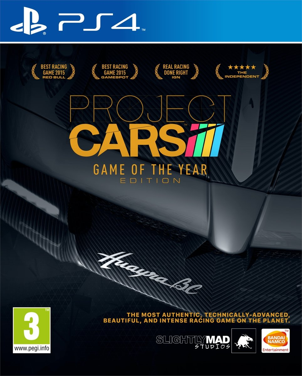 Project Cars (GOTY Edition) PlayStation 4