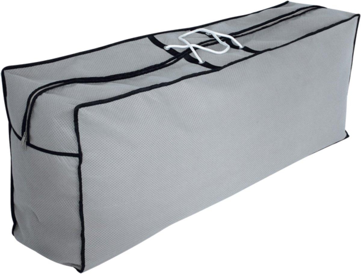 125*80*80cm Eurotrail Draagtas voor zitkussens loungebank SFS Grijs