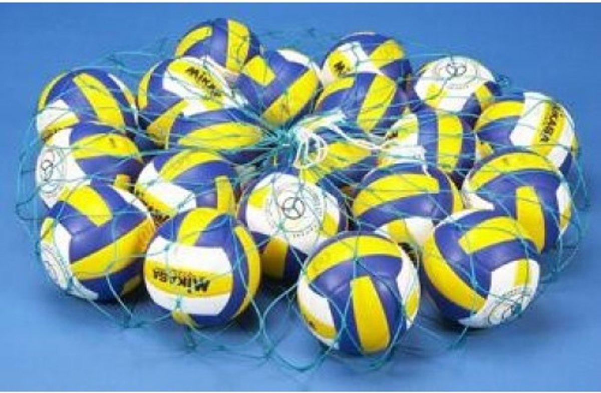 Nylon ballennet voor 16 a 18 ballen - Groen | Draagnet kopen