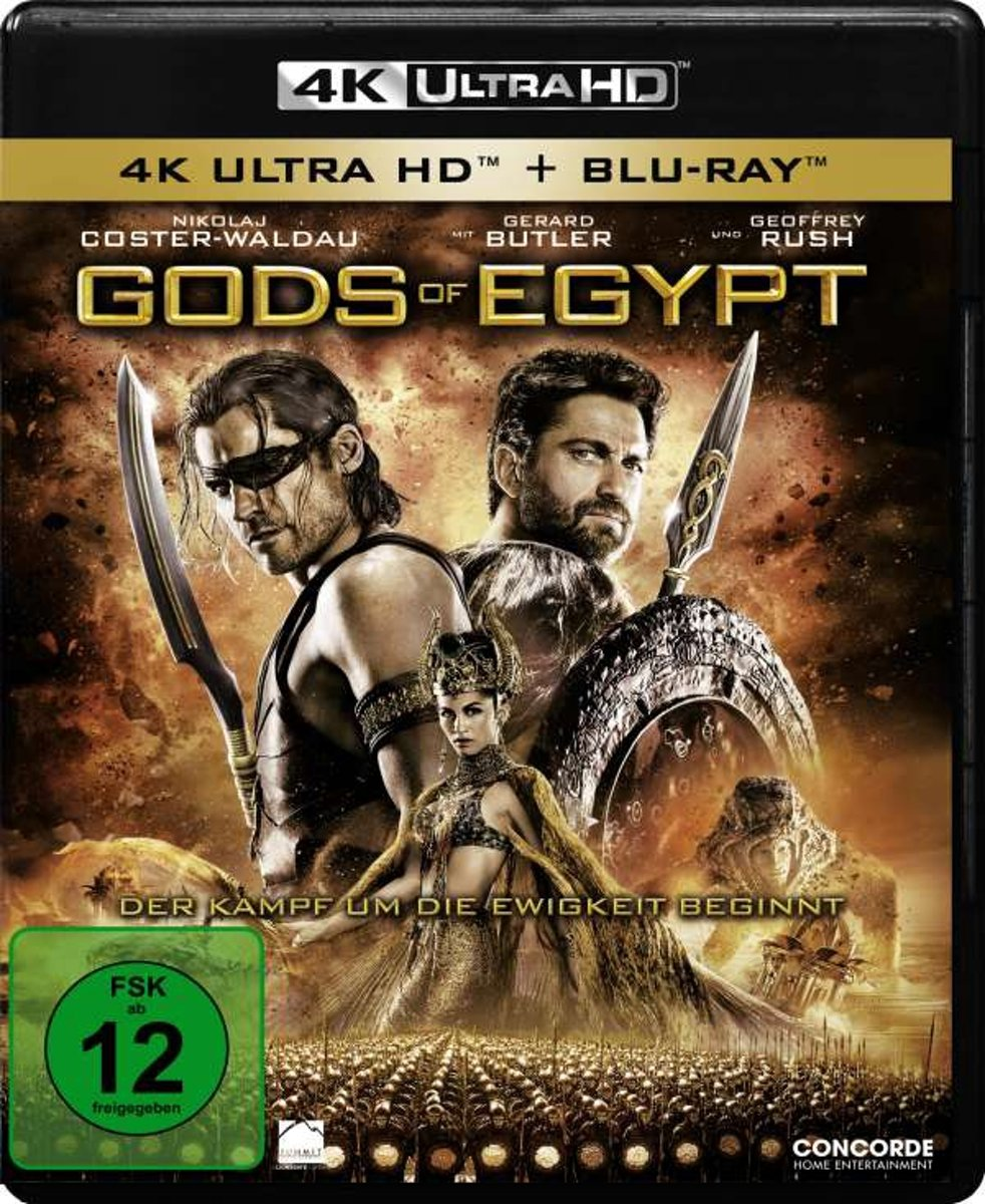 Gods of Egypt (4K Ultra HD + Blu-ray)-