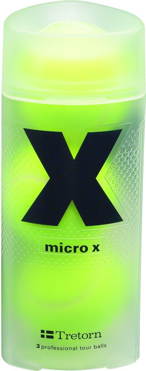 Tretorn Micro X - Tennisballen - 3 stuks - Geel kopen