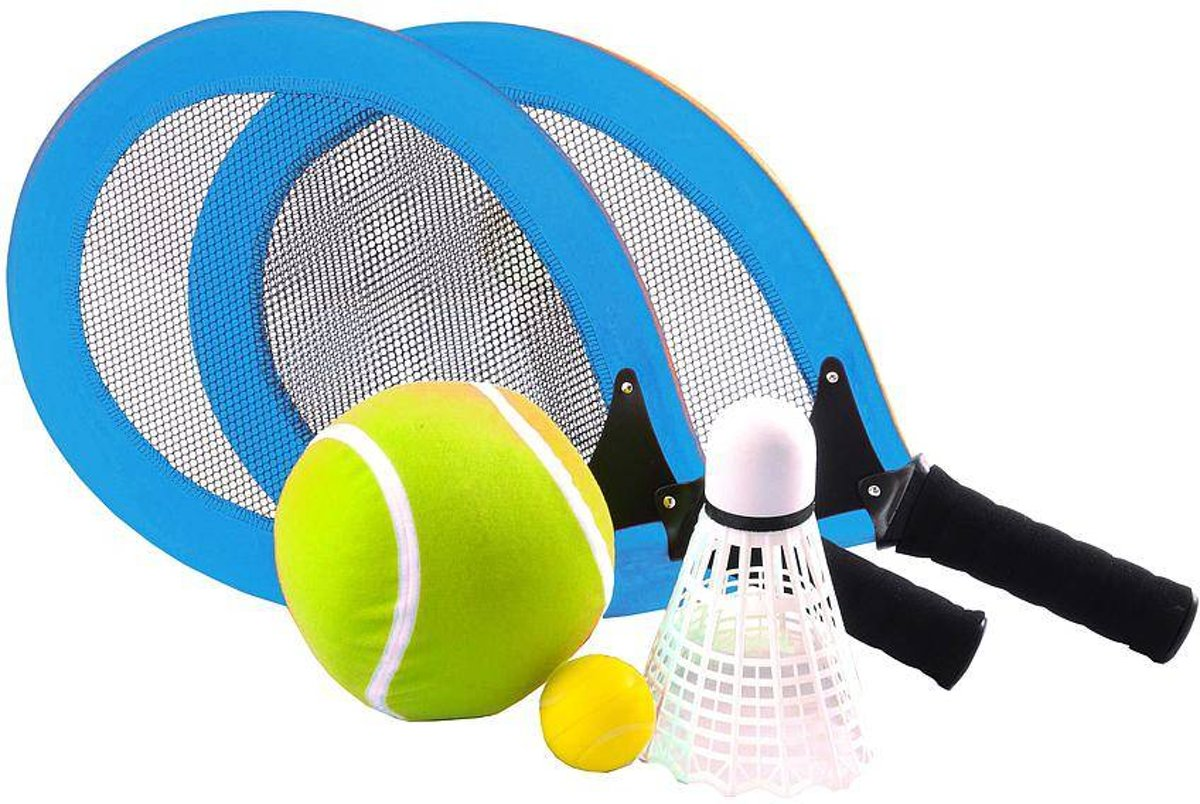 Angel Sports Racketset Blauw kopen