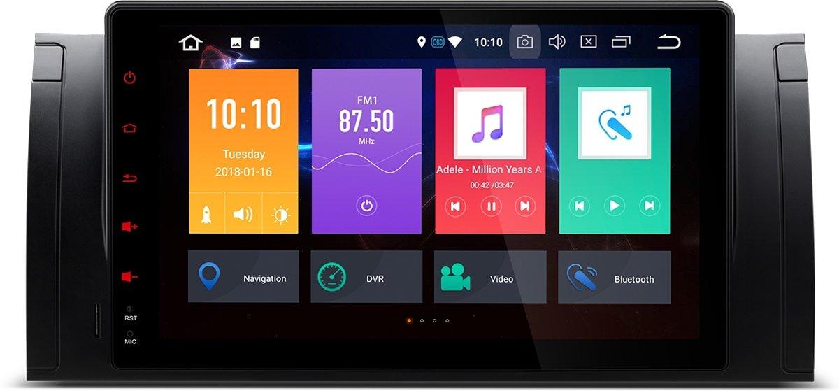 Bmw E53 / X5 / E39 / 9 inch display / Android 8.0 / Octa-Core 32GB ROM + 4G RAM kopen