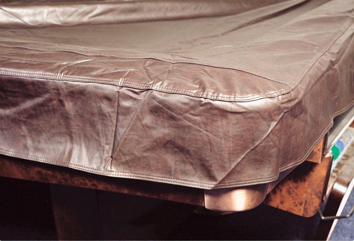Tafelhoes biljarttafel 230, bruin (265x150cm) kopen