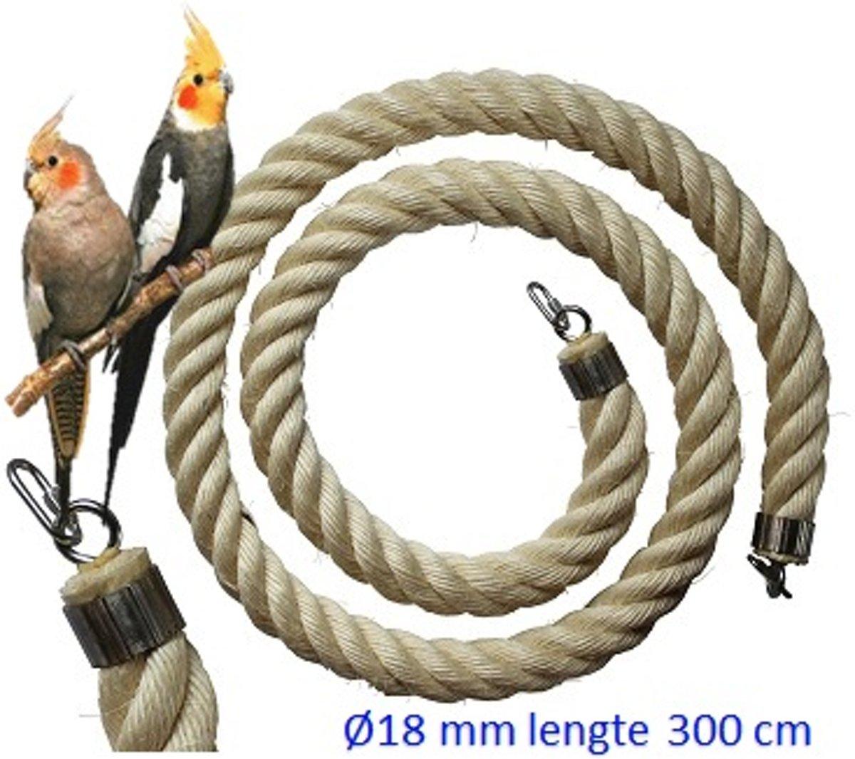 Jungle sisal touw  Ø 18 mm & 300cm lang (Vogeltouw ) kopen
