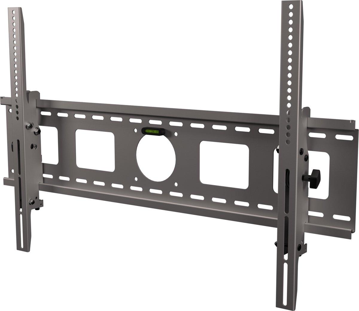 Dataflex - Vaste muurbeugel - Geschikt voor tv's van 42 t/m 80 inch - Zilver kopen