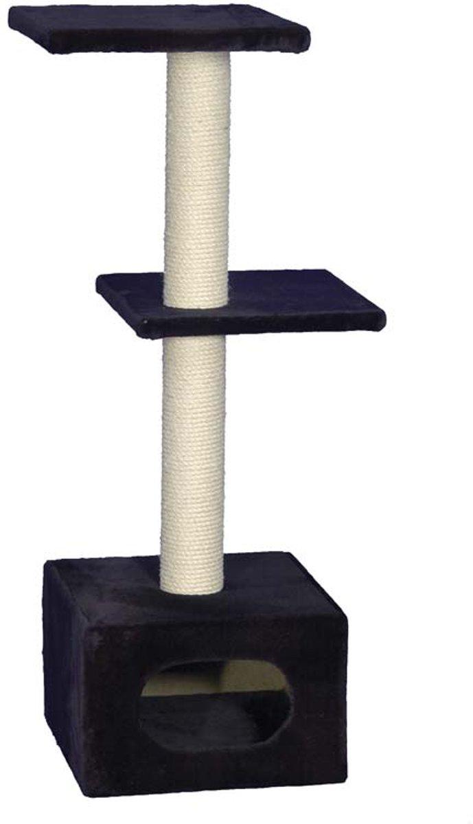Nobby krabmeubel exclusive 1 zwart 38 x 38 x 108 cm - 1 st