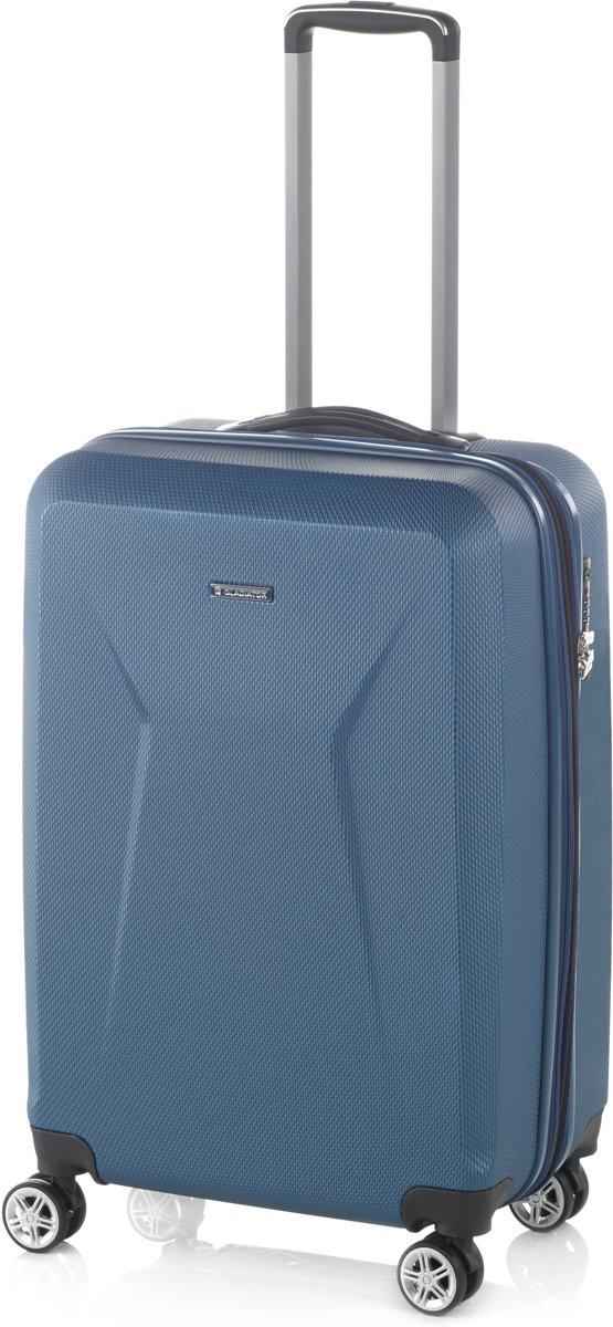 Gladiator Iguana S handbagage - spinner 55 - TSA slot - petrol blauw kopen