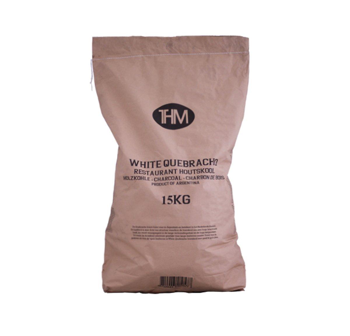 THM White Quebracho Restaurant Houtskool 15kg kopen