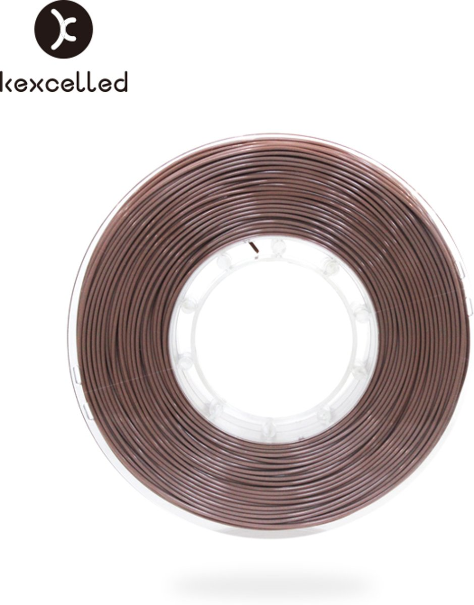 kexcelled-PLAsilk-1.75mm-koper/copper-500g(0.5kg)-3d printing filament