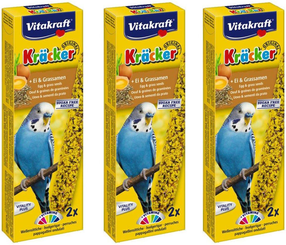 Lekkere Snack voor Parkiet Ei & Graszaad Per 3 stuks kopen