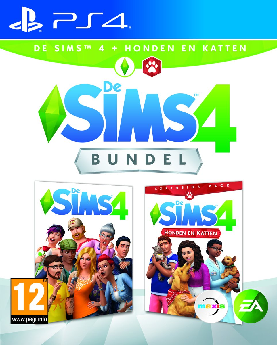 De Sims 4 + Honden en Katten Bundel PlayStation 4