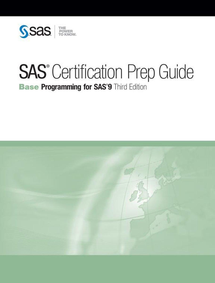 Bol Sas Certification Prep Guide Base Programming For Sas 9