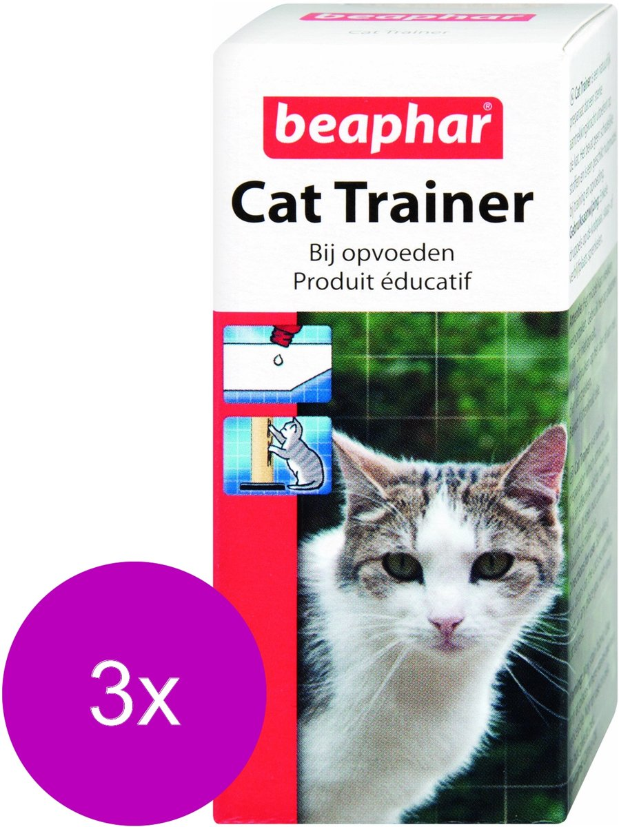 Beaphar Catty Trainer Lokstof - Kattenkruid - 3 x 10 ml kopen