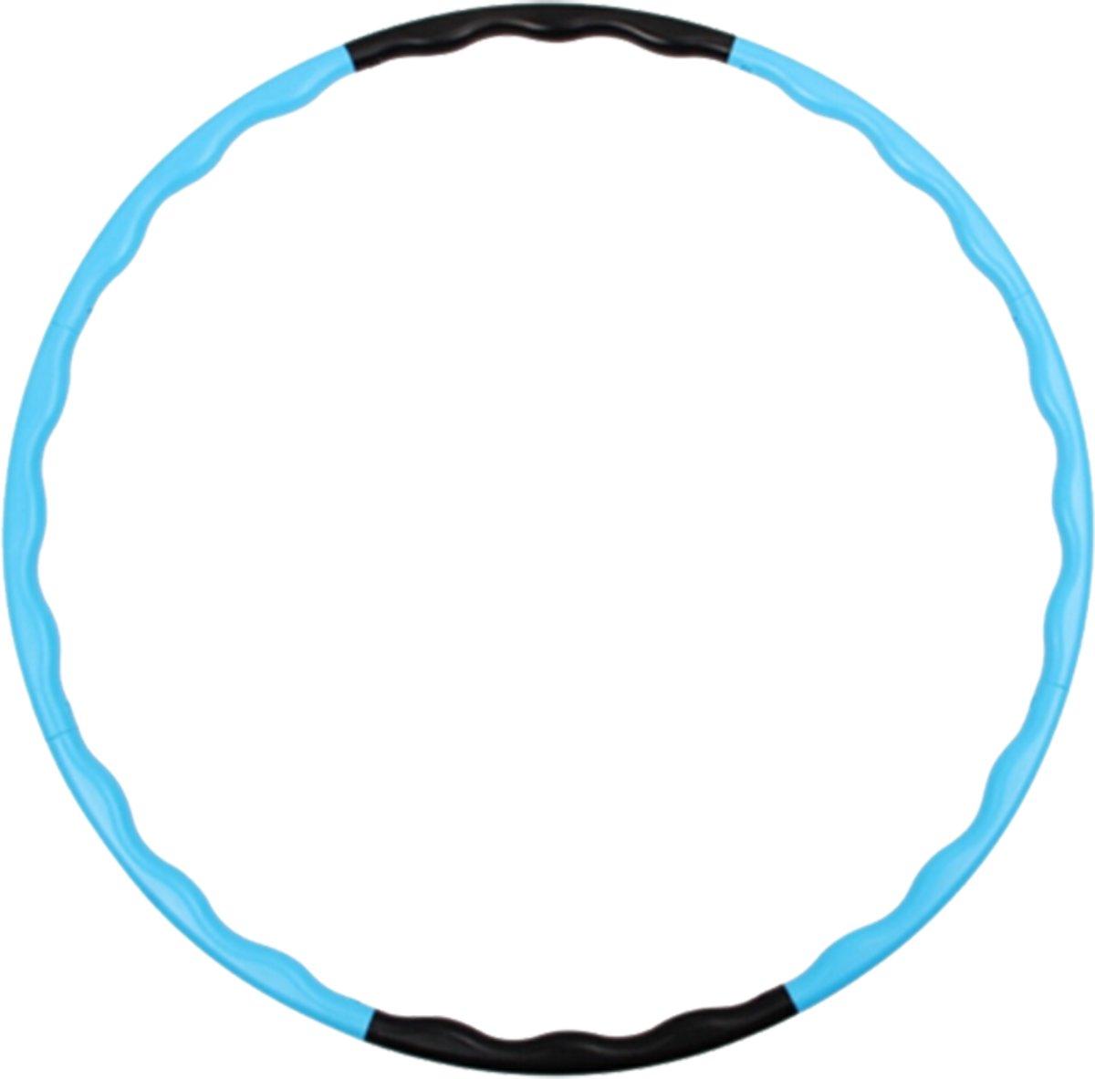 Fitness Hoelahoep   Fitness hoepel   Fitness hulahoop   Blauw/Zwart kopen